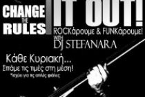 ROCK IT OUT! Sunday Rock Party with Dj Stefanara! only @ Ρόδον..