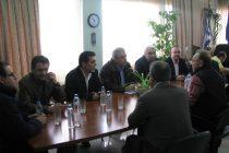 Συνάντηση Νομάρχη Έβρου με Κλιμάκιο της Νέας Δημοκρατίας για την τραγική κατάσταση στην οποία βρίσκεται ο νομός Έβρου τις τελευταίες ημέρες