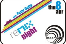 The REMIX night with Petros Delta στο Moonwalk