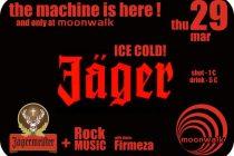The Machine is here !!! Jägermeister ICE COLD ! στο Moonwalk