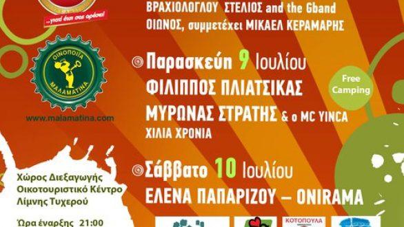 Ξεκινάει σήμερα το 8ο Φεστιβάλ Νεολαίας Δήμου Τυχερού