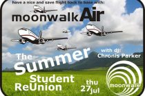 the summer student re-union with Chronis Parker στο Moonwalk