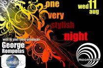 "One Very Stylish Night με τον ""δικό μας"" Γιώργο Ρόμπολα Στα decks του Moonwalk"