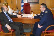 Ο Ευάγγελος Λαμπάκης καλωσορίζει τον νέο Αστυνομικό Διευθυντή της Αλεξανδρούπολης