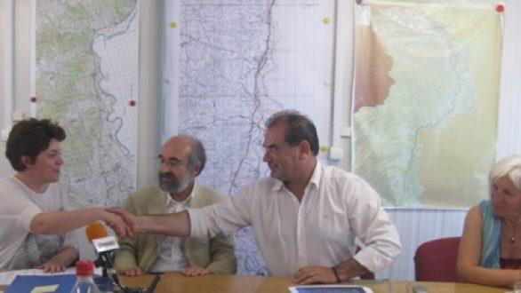 Υπογράφηκε η σύμβαση για την κατασκευή του τμήματος Αρδανίου – Μάνδρας του κάθετου άξονα της Εγνατίας Οδού