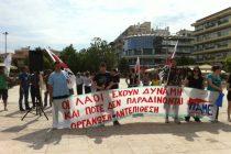 Δυναμική παρουσία του Π.Α.Μ.Ε. και στην πλατεία της Ορεστιάδας
