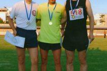 Χρυσός ο Τόλης Γκάτζιος σε αγώνα 5000μ βετεράνων στην Θεσσαλονίκη