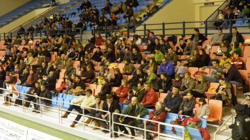 Κοινό στο γήπεδο