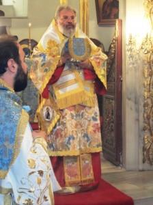 Ο Μητροπολίτης Διδυμοτείχου, Ορεστιάδος & Σουφλίου ιερούργησε  στην Ζωοδόχο Πηγή στο Μπαλουκλί