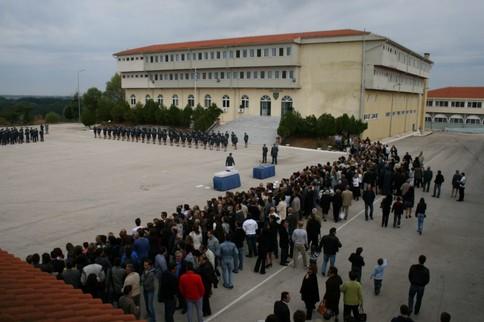 Απολυμαίνεται η Σχολή Αστυφυλάκων στο Διδυμότειχο