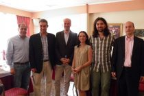 Επίσκεψη του Προέδρου της Ομοσπονδίας Ξενοδόχων στην Ορεστιάδα