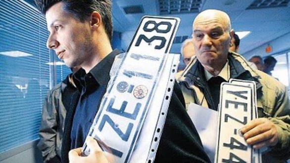 Επιστροφή πινακίδων και αδειών οδήγησης και κυκλοφορίας για τις εκλογές