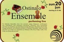 Οι Ostinato Ensemble στο moonwalk