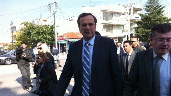 Ο Αντώνης Σαμαράς περιοδεύει στη Θράκη