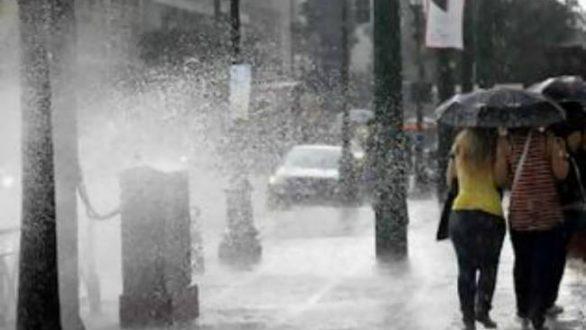 Έκτακτο δελτίο επιδείνωσης καιρού με καταιγίδες και χαλάζι