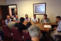 Συνάντηση με τον Υφυπουργό Αγροτικής Ανάπτυξης για το θέμα των ζωονόσων που πλήττουν τον Έβρο