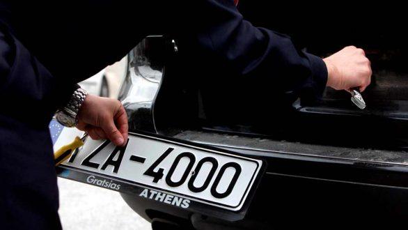 Σύλληψη για πλαστές πινακίδες κυκλοφορίας στην Αλεξανδρούπολη