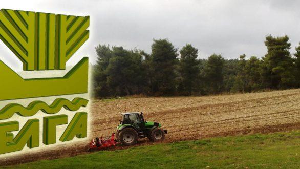 Πληρώνει ο ΕΛΓΑ 5,4 εκατ. ευρώ σε 4.845 γεωργούς και κτηνοτρόφους