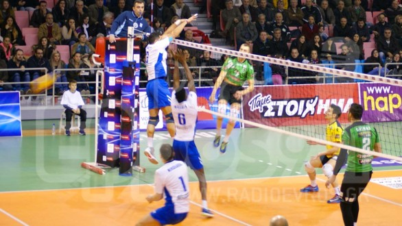 Volleyleague: Πρόγραμμα και Διαιτητές (10η Αγωνιστική)