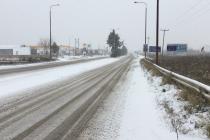 """""""Στα λευκά"""" ο Έβρος: Η κατάσταση στους δρόμους – Κλειστά σήμερα ορισμένα σχολεία"""
