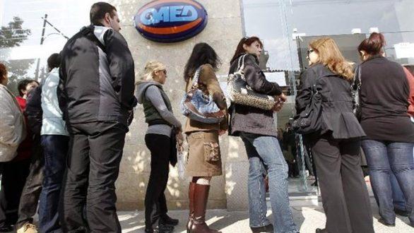Μειωμένη κατά 2,1 μονάδες η ανεργία τον Νοέμβριο