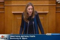 Τοποθέτηση Ν. Γκαρά στη Βουλή για ελλείψεις στις δομές Υγείας στον Έβρο