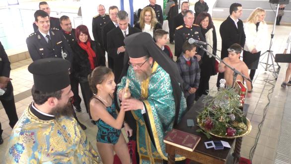 Εορτάστηκαν και φέτος τα Θεοφάνεια στο κολυμβητήριο Ορεστιάδας