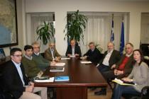 Στρατηγικής Έξυπνης Εξειδίκευσης και η υλοποίηση του Περιφερειακού Σχεδιασμού Διαχείρισης Αποβλήτων τα θέματα που συζήτησε ο Περιφερειάρχης