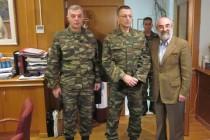 Εθιμοτυπική επίσκεψη του Αρχηγού Γ.Ε.Σ. στον Λαμπάκη