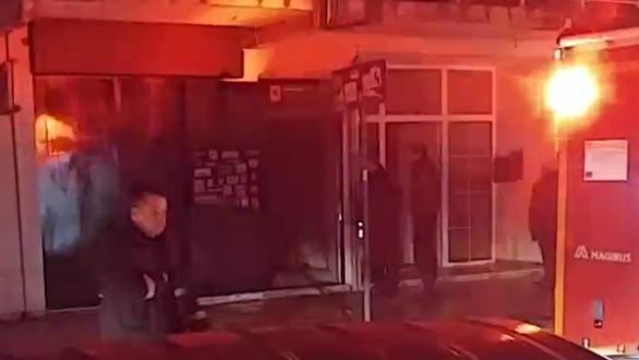 Διάρρηξη και φωτιά σε σύνδεσμο στην Ορεστιάδα