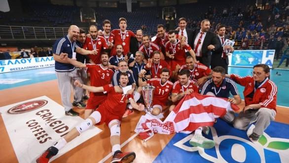 Κύπελλο ΕΟΠΕ : Το σήκωσε στην Θεσσαλονίκη ο Ολυμπιακός   !