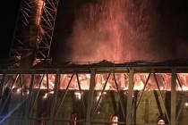 Καίγεται το Τέμενος Βαγιαζήτ στο Διδυμότειχο