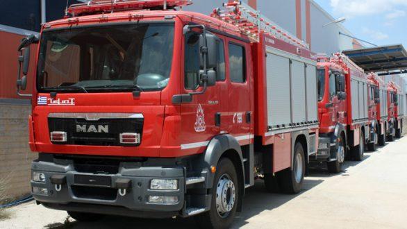 Νέα πυροσβεστικά οχήματα για την Περιφέρεια Ανατολικής Μακεδονίας – Θράκης