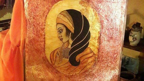 """Έκθεση ζωγραφικής """"Γυναίκες της Μαύρης Ηπείρου"""" στο Διδυμότειχο"""