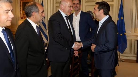 Συμμετοχή Μέτιου στη σύσκεψη Πρωθυπουργού με Περιφερειάρχες