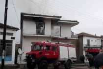 Κεραυνός έκαψε σπίτι στον Πεντάλοφο