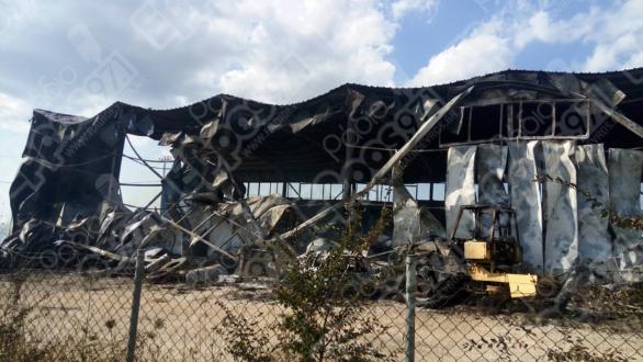 Συνεχίζεται η κατάσβεση της πυρκαγιάς στο εργοτάξιο στο Κουφόβουνο
