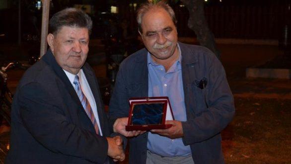 Τον Αλέξανδρο Καζαντζή τίμησε η Ε.ΠΟ.Φ.Ε. στην 26η Έκθεση Βιβλίου Αλεξανδρούπολης