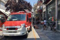 Φωτιά σε κατάστημα στην Ορεστιάδα