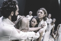 """Το Κρατικό Θέατρο Βορείου Ελλάδας ήρθε στην πόλη της Ν.Ορεστιάδας με την παράσταση """"Επτά επί Θήβας"""" του Αισχύλου."""