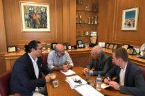 Επίσκεψη του Προξένου της Ρωσίας A. Shcherbacov στον Δήμαρχο Αλεξανδρούπολης
