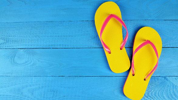 Τρία πράγματα που πρέπει να προσέξουμε όταν φοράμε σαγιονάρες