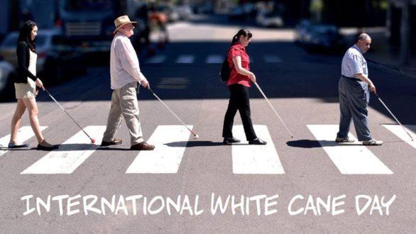 Ενημερωτική εκδήλωση για την Διεθνή Ημέρα Λευκού Μπαστουνιού στο ΕΜΘ