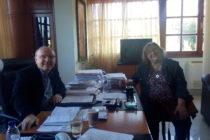 Συνάντηση Δημάρχου Διδυμοτείχου κ.Πατσουρίδη με την αναπληρώτρια προϊσταμένη της Εφορείας Αρχαιοτήτων Έβρου κ. Χρύσα Καραδήμα