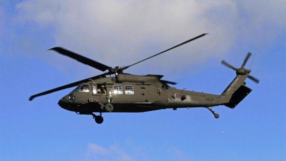 Τα στρατιωτικά ελικόπτερα Βlack Hawk ξεσηκώνουν αντιδράσεις στην Αλεξανδρούπολη