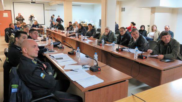 Η έλλειψη μηχανημάτων αποχιονισμού στο επίκεντρο της συνεδρίασης της Πολιτικής Προστασίας