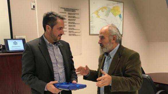 Την Αλεξανδρούπολη επισκέφθηκε ονέοςΠρόεδρος του ΤΑΙΠΕΔ Άρης Ξενόφος