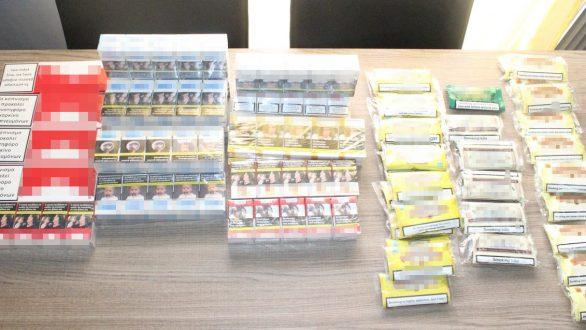 Αλεξανδρούπολη: Σύλληψη δυο ατόμων για λαθραία τσιγάρα και καπνό