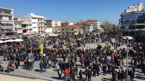 Ορεστιάδα:Διατρανώθηκε το αίτημα της επιστροφής των στρατιωτικών με την μαζική συγκέντρωση