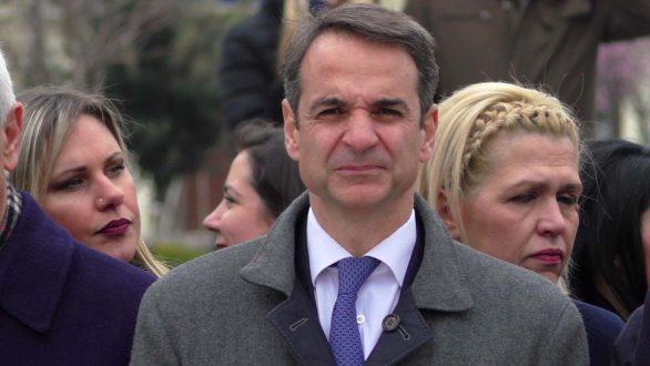 Άμεση αποφυλάκιση των δύο στρατιωτικών ζήτησε από την Αλεξανδρούπολη ο Μητσοτάκης